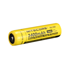 Nitecore - 3400mAh 18650 rechargeable Li-ion battery - NL189
