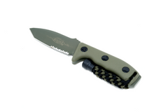 Microtech Currahee - Tanto, Green, Partially serrated 103-2GR