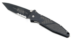 Microtech SOCOM Elite M/A - Tanto, Black, Partiarlly serrated 161-2