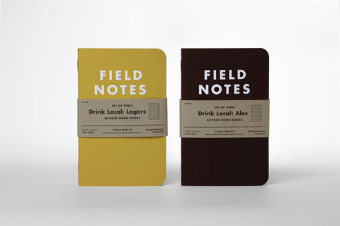 "Field Notes Colors - Drink Local ""Ale"", Graph Paper, FNC-20 (3-pack)"