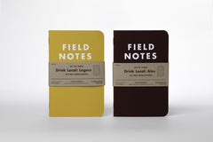 "Field Notes Colors - Drink Local ""Lager"", Graph Paper, FNC-20 (3-pack)"