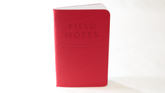 Field Notes - Red Blooded, Graph Paper, FN-01b (3-pack)