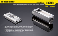Nitecore Headlamp series - HC90