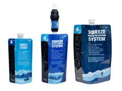 Sawyer - PointONE Squeeze Water Filter System Includes 3 Pouches - SP131