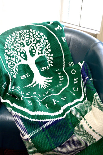 Tree of Life Legacy Knit Blanket