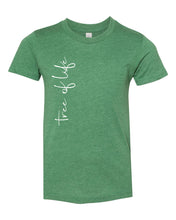 Load image into Gallery viewer, Tree of Life Script Tee - Green