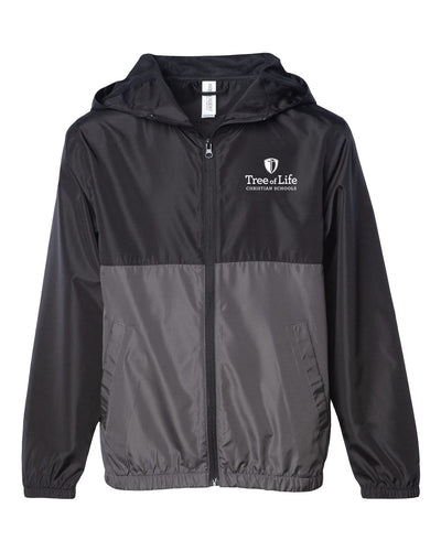 Youth Full Zip Windbreaker