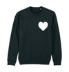 Companion Crew Neck Sweatshirt - Heart Front