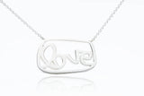 grantLOVE Necklace - Sterling Silver