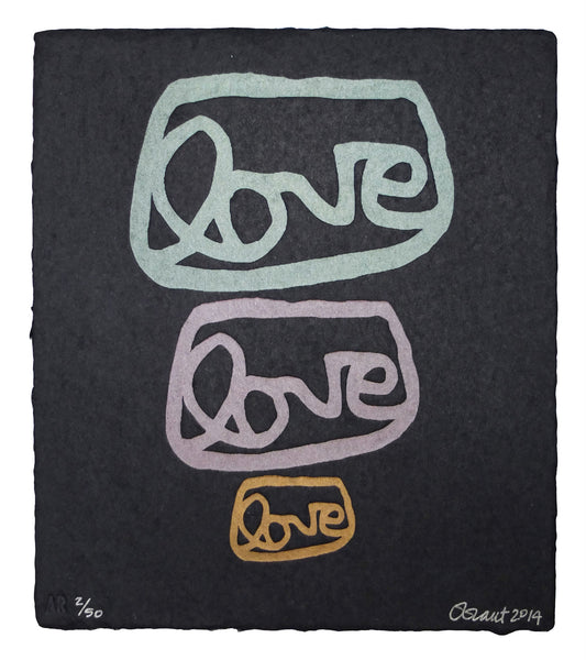 LOVE LOVE LOVE, 2, limited edition print