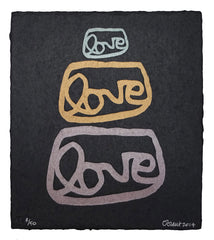 LOVE LOVE LOVE, 1, limited edition print