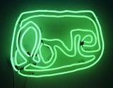 Small LOVE neon (green)