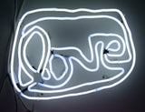 Small LOVE neon (white)