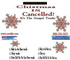 CHRISTMAS IS CANCELLED MELODIES