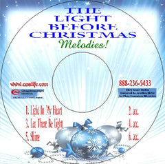 THE LIGHT BEFORE CHRISTMAS MELODIES