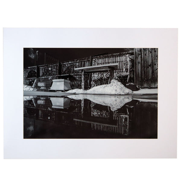 DIANE ALLISON Photograph Print, Black and White Mirror