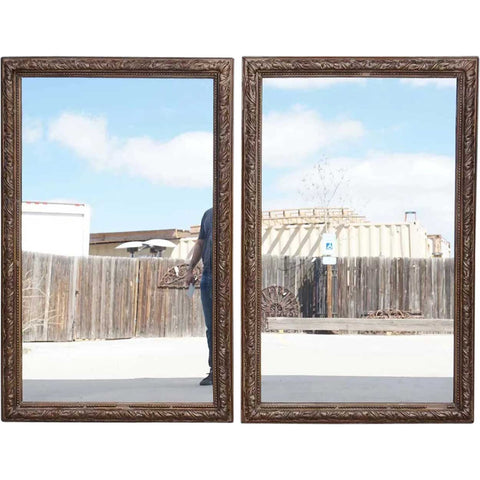 Pair of French Gesso Frames