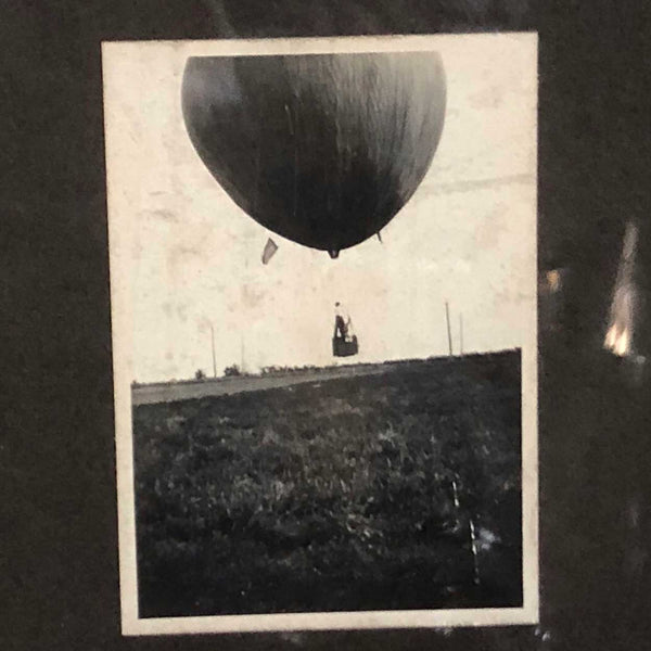 Assembled Set of 11 American Sepia, Black and White Photographs, Helium Balloons