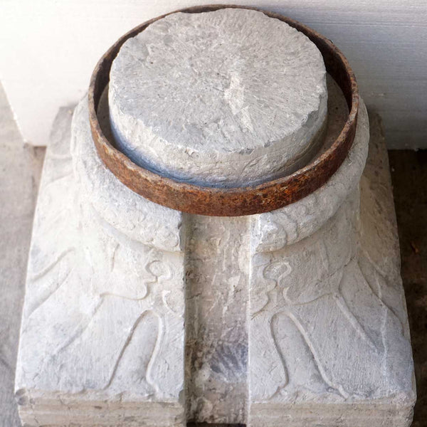 Pair of Chinese Stone Pillar Bases
