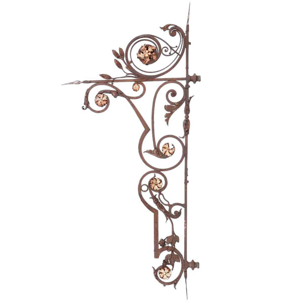 Large Argentine Wrought Iron Bracket