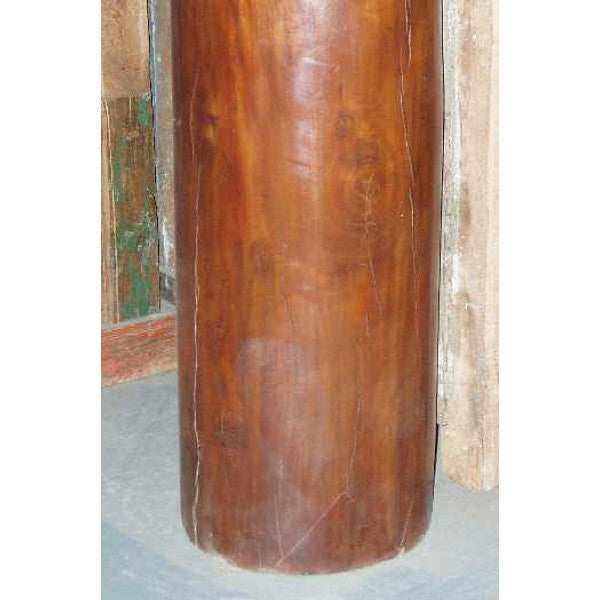 Anglo Indian Mahogany and Rosewood Column
