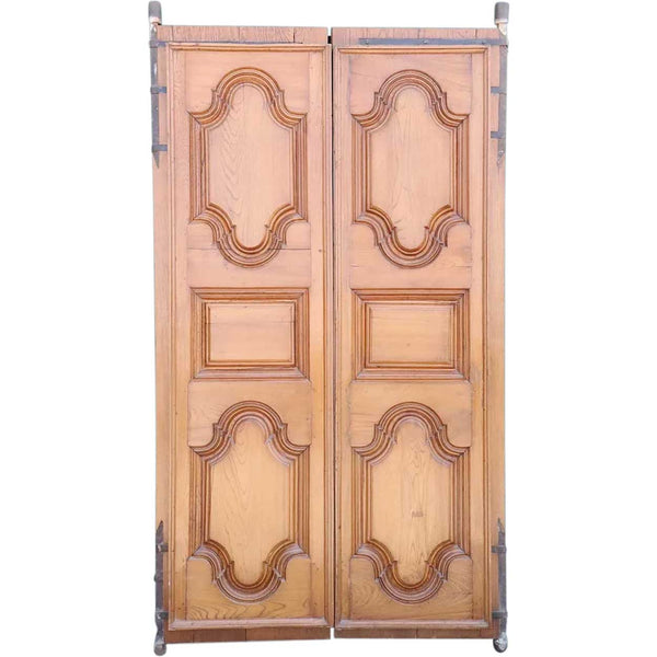 Anglo Indian Solid Teak Double Door