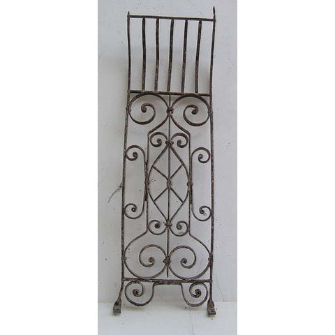 English Victorian Wrought Iron Balusters (6 available)