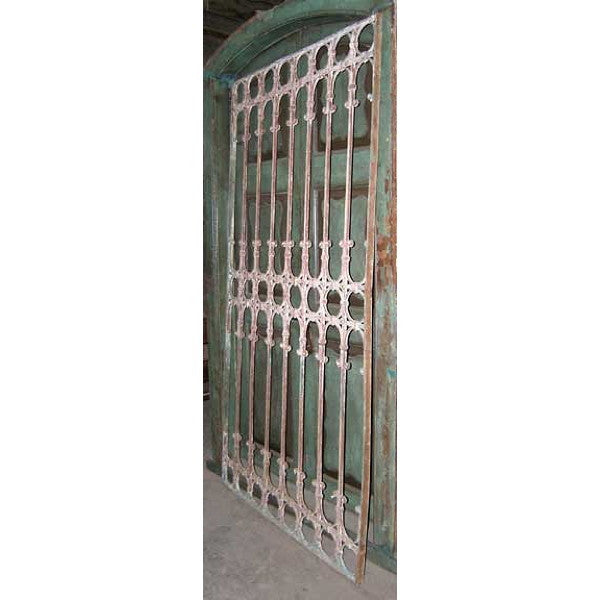 Spanish Hand Wrought Iron Grille Panel