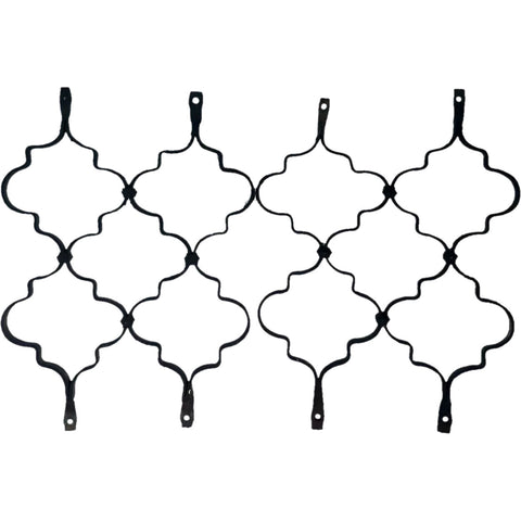 Pair of Spanish Wrought Iron Grilles