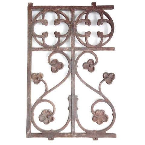 English Gothic Revival Cast Iron Railing (43 available)