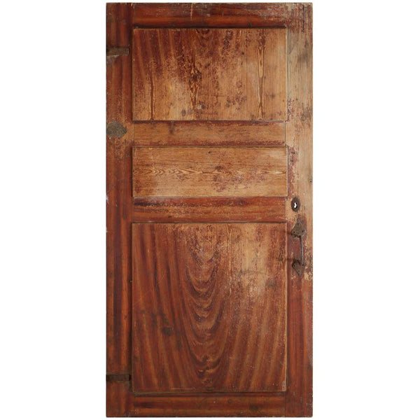 Danish Pine Single Panelled Door