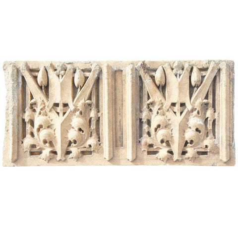 American GEORGE ELMSLIE Morton School Terracotta Architectural Panel
