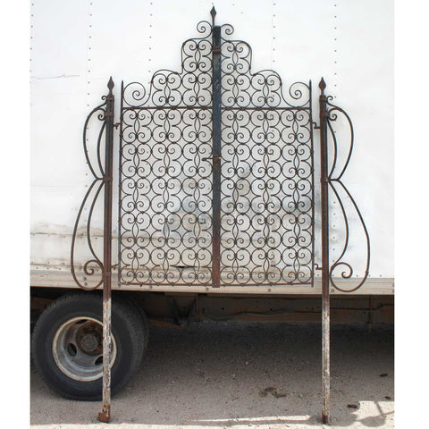STOLEN ➳ Pair Spanish Wrought Iron Gates
