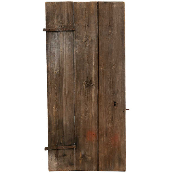 Swedish Allmoge Pine Plank Single Door