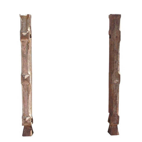 Pair of English Cast Iron Balcony Baluster Balcony Supports