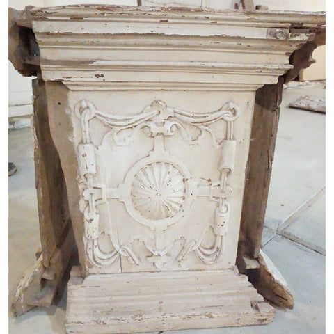 architectural salvage antique building pillar capitals and bases