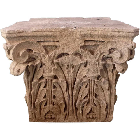 American Stone Corinthian Building Pilaster Capital