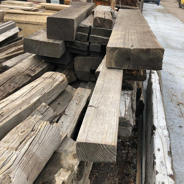 Hand Hewn Pine, Oak and Teak Architectural Beams (Sold separately)