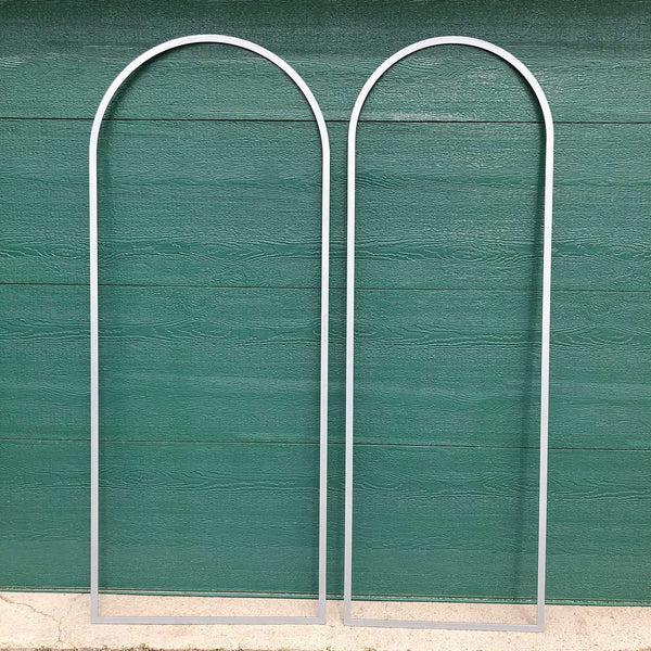 Small American Powder Coated Steel Arched Architectural Window Trim (6 available)