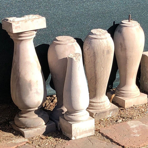 American Neoclassical Turkey Creek Sandstone Baluster (18 available)