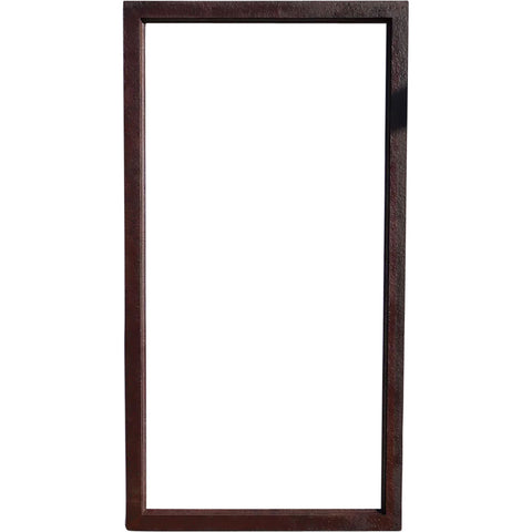 Vintage American Hammered Steel Window Frame