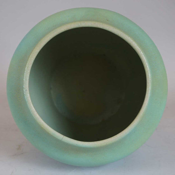 Early American Van Briggle Art and Crafts Pottery Matte Green Vase