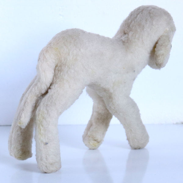 Vintage German Steiff Wool and Cotton Stuffed Lamby Toy