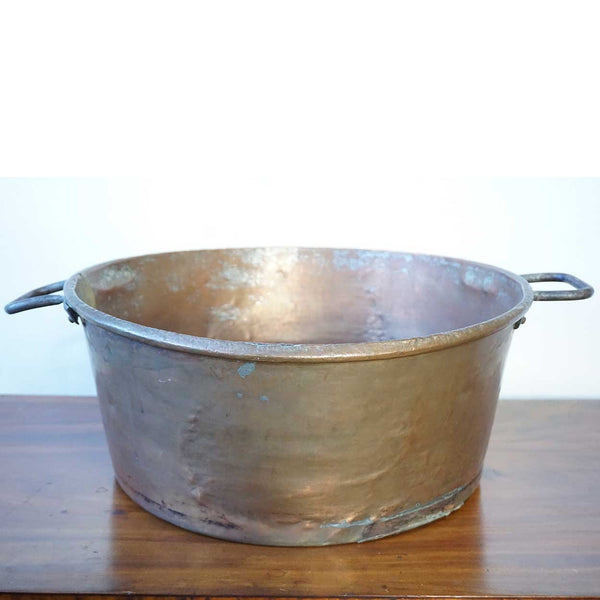 American Copper Two-Handle Cooking Pot