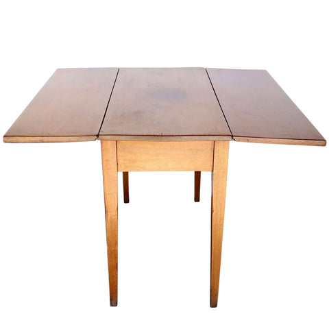 American Virginia Butternut Dropleaf Table