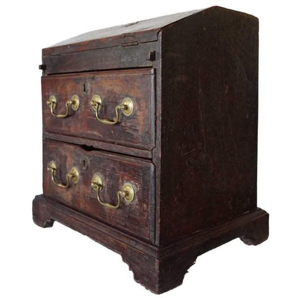 Anglo Indian Chippendale Table-Top Writing Chest