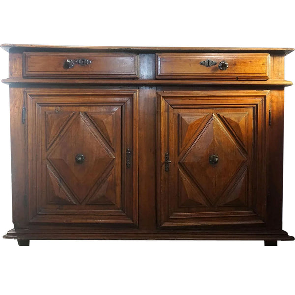 French Louis XIII Fruitwood Sideboard