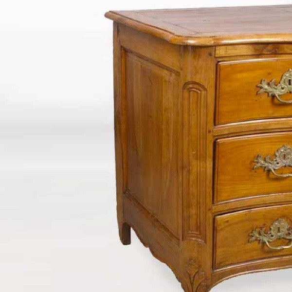French Provincial Louis XV Cherrywood Commode