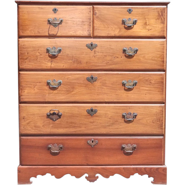 Anglo Indian George III Rosewood Chest of Drawers