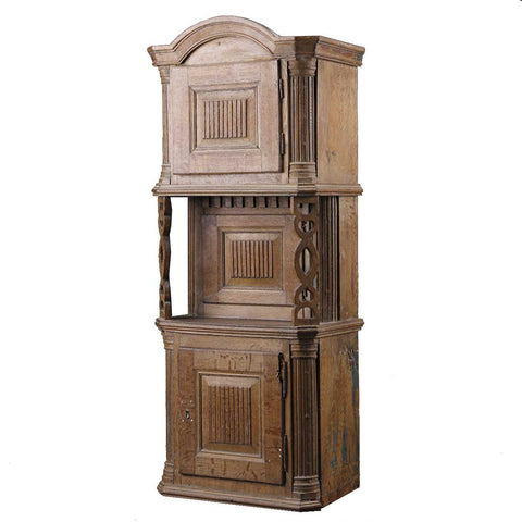 Swedish Oak Tall Tobacco Cabinet